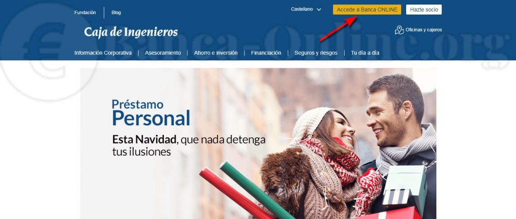 acceso banca online caja ingenieros