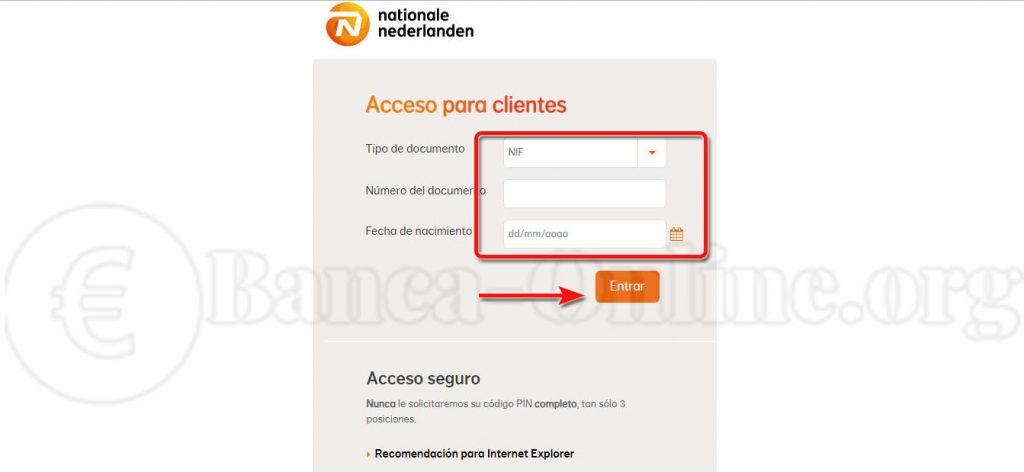 acceso clientes nationale nederlanden
