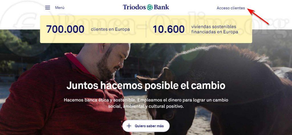 acceso clientes triodos bank1