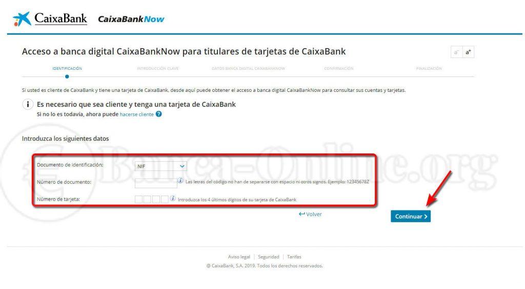 darse de alta en banca digital caixabanknow